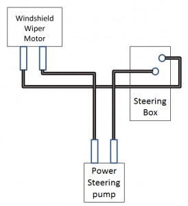 Windshield Wiper Motor Connections