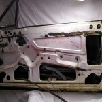 Door prior to disassembly.